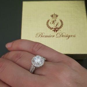 Premier Design ring silver color size 7
